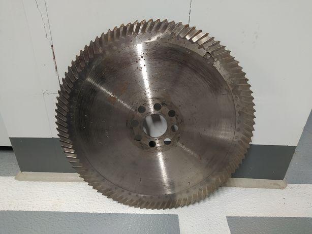 Piła tarcza segmentowa HSS do cięcia metalu 400 mm