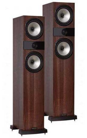 Kolumny stereo Fyne Audio F303. orzech, para, od ręki