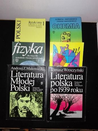 Polski Fizyka Literatura Polska Chemia Zbiór zadań z matematyki