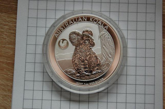 Kolekcjonerska moneta 2017 Koala Rooster Privy Mark
