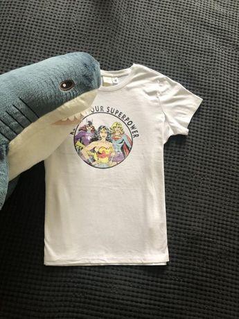 Белая футболка marvel starwars h&m хлопок
