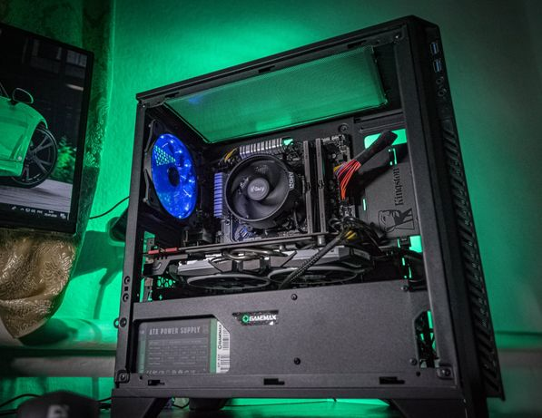 Топ. Игровой компьютер AM4 Ryzen 5 2600/RX570/16gb DDR4/b450m