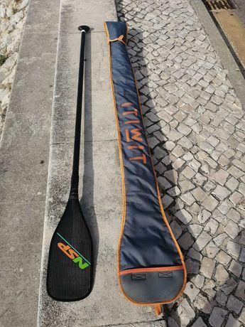 Sup Paddle Pagaia NSP 100% carbono como Nova