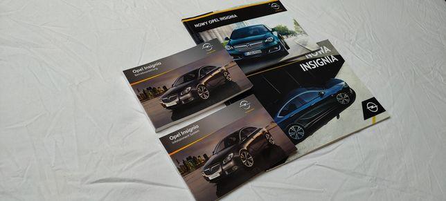 Instrukcja obsługi Opel Insignia A, stan idealny! Gratis katalogi Opla