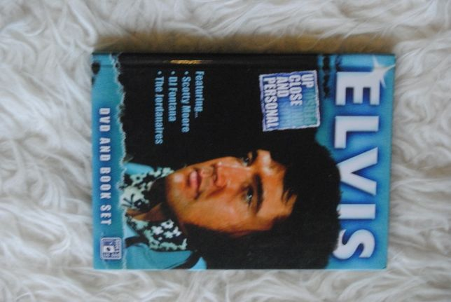 ELVIS*Up Close And Personal/DVD + Książka