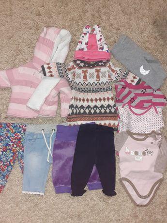 Вещи на девочку, вещи на новорождённого