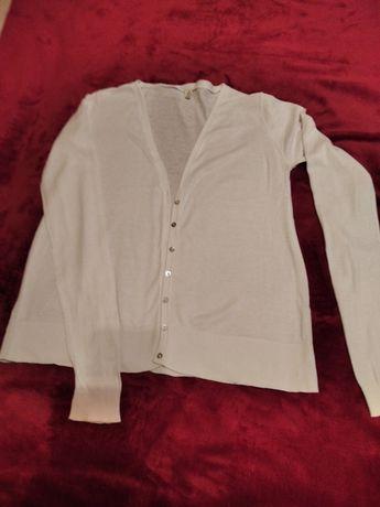 Sweter damski biały