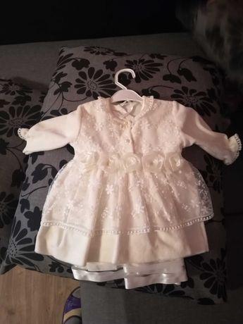 Sukienka welurowa rozmiar 62
