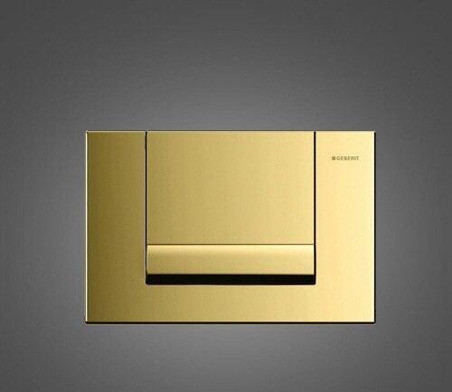 FINAL SALE -80% Кнопка для инсталяции GEBERIT Tango Латунь/Золото