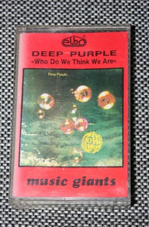 Kaseta magnetofonowa DEEP PURPLE - Who Do We Think We Are