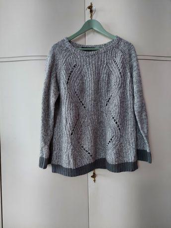 Szary sweter XXL-XXXL