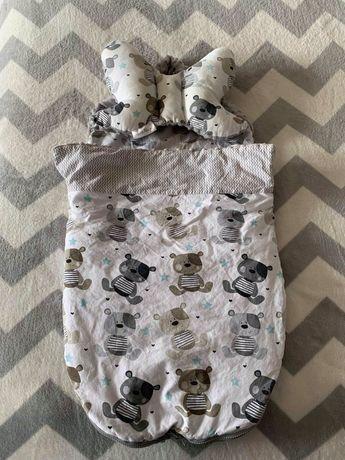 Śpiworek z poduszeczka