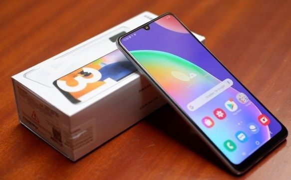 SAMSUNG Galaxy A31 4/128 Duos Prism Crush Blue