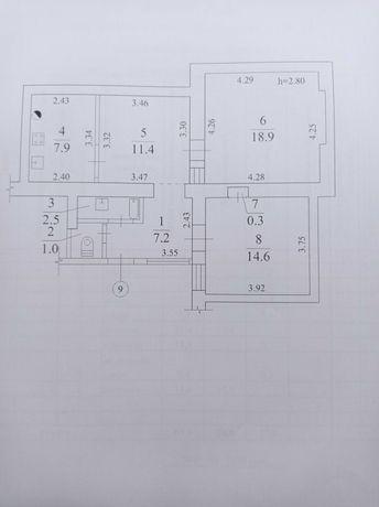Продам 2-х комнатную квартиру в историческом центре