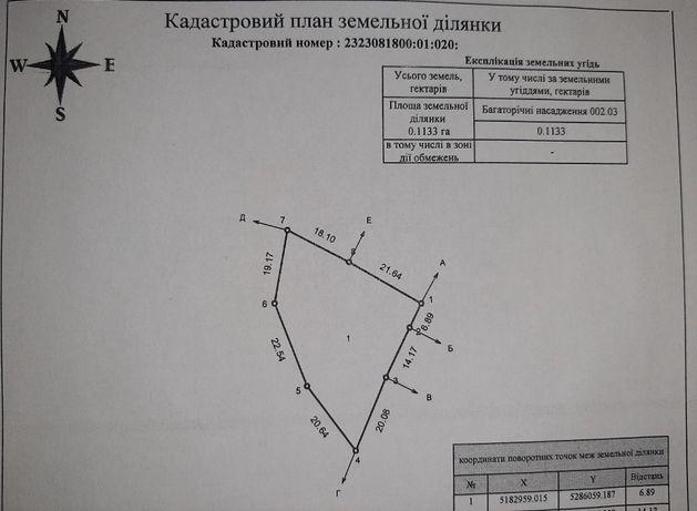 """Продам земельный участок, ОК """"Автомобилист-2"""""""