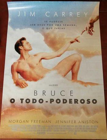 Poster Jim Carrey – Bruce o Todo-Poderoso (grande formato)