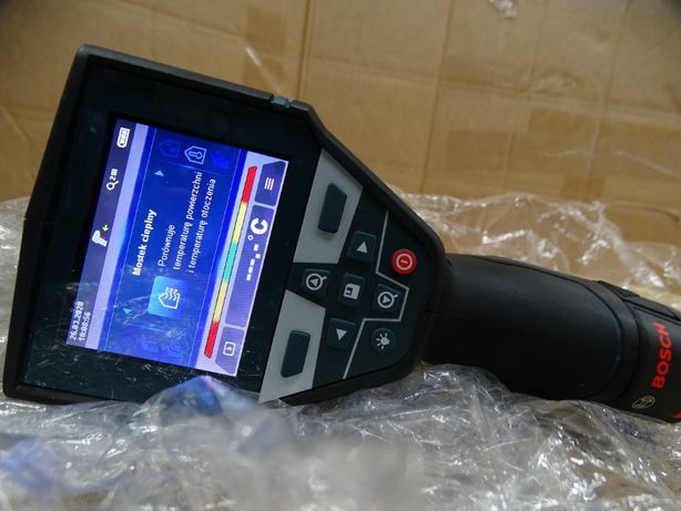 Termodetektor Bosch cyfrowy GIS 1000C