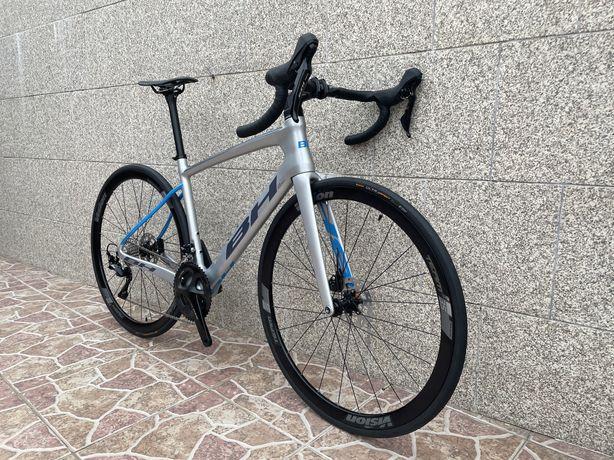 Bicicleta estrada de disco BH Aero Quartz Acr (cabos integrados) NOVA