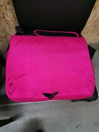 Ikea duża torba na ramię do szkoły i na laptopa z przegrodami A4 nowa