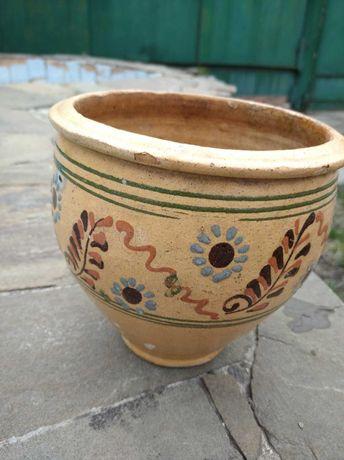 продам макитру или горшок советского производства с ручной росписью