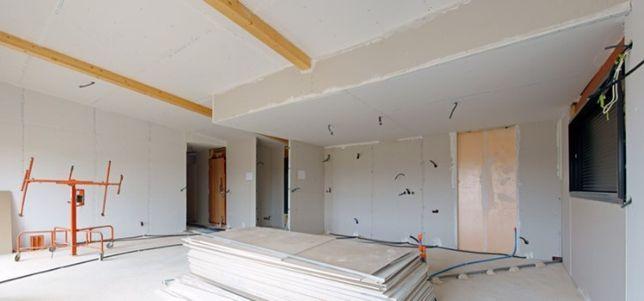 Remodelações interiores Pladur e pintura
