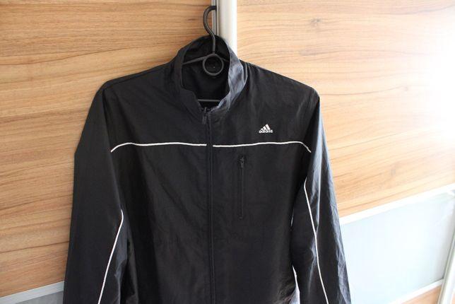 Klasyczna bluza/kurtka męska na zamek, Adidas, roz.M, czarna, stan bdb