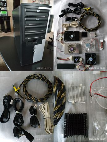 кулера, кабель питания, радиаторы,охлаждение HDD