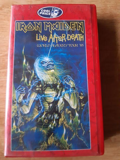 Iron Maiden.Koncert 1985 r.Kaseta VHS.