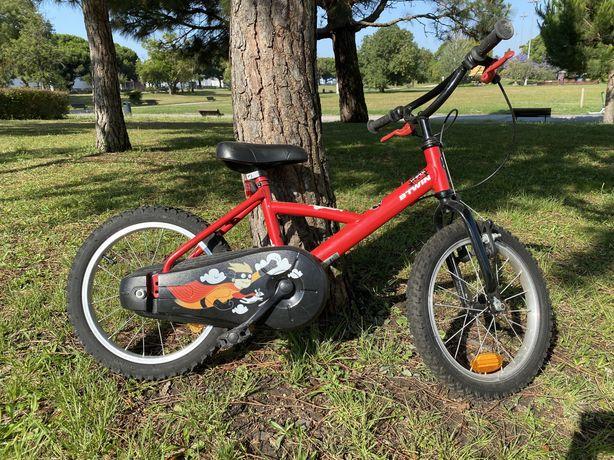 Bicicleta BTWIN 500 roda de 16 polegadas