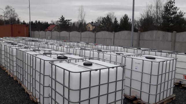 Zbiorniki 1000L Zbiornik AdBlue RSM woda Deszczówka Olej Czyste
