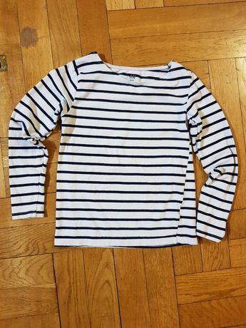 Dziecięca bluzka w paski, H&M, rozmiar 122/128