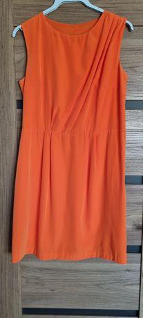 Sukienka pomarańczowa Mohito