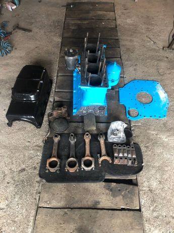Блок двигуна двигателя частично в сборе МТЗ 80 Д 240 маслонасос,поддон