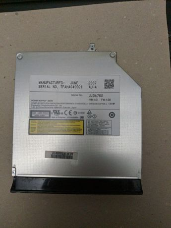 Panasonic UJDA780 привод для ноутбука/сервера slim DVD-ROM/CD-RW IDE