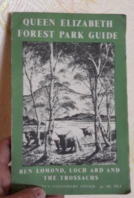 Книга английский The Queen Elizabeth Forest Park Guide Ben Lomond 1954