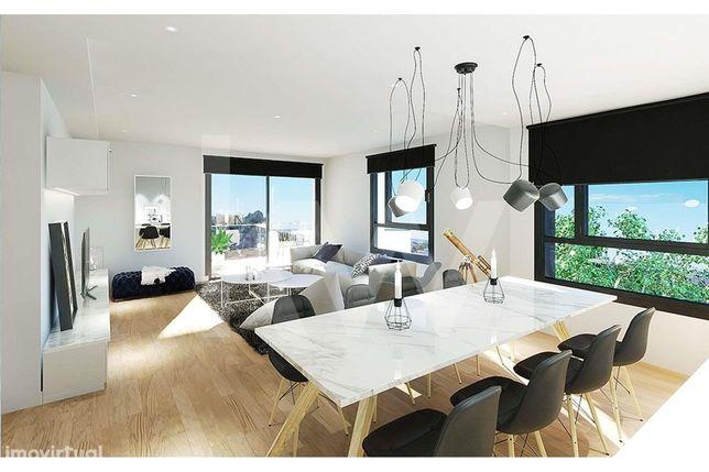 Apartamento T3 com 2 Varandas em construção- Paranhos - Faculdades