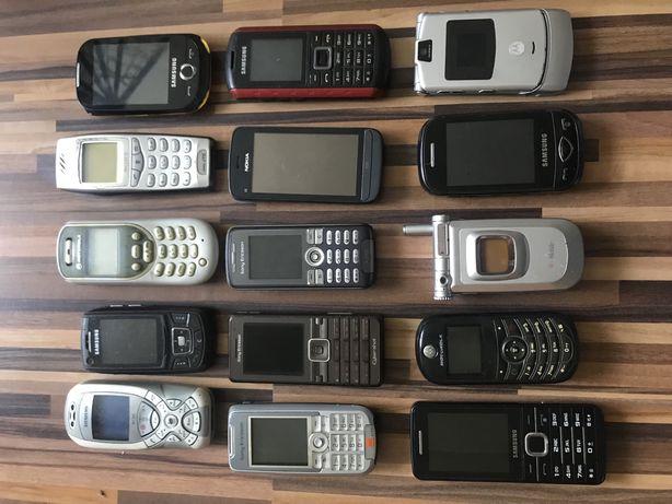 Telefony 15szt sprawne