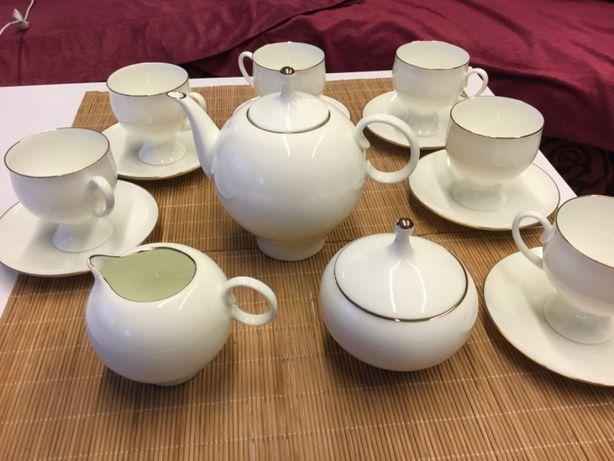 Porcelana, zestaw do herbaty, zestaw do kawy, imperialna, Lomonosow