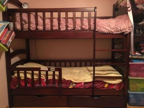 скидка на двухъярусную кровать Каринка от производителя