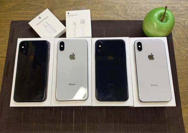 Iphone X 64 Space gray хорошее состояние Магазин Гарания 6 месяцев