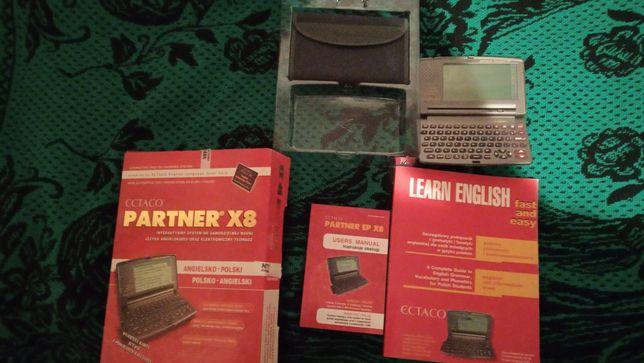 Sprzedam słownik elektroniczny mówiący Ectaco Partner X8 angielsko-pol