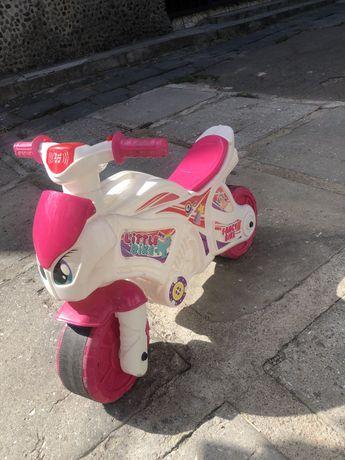 Толокар, беговел, мотоцикл для девочки