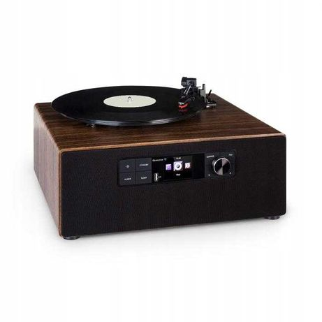 Gramofon Connect Vinyl Cube DAB BT Wi Fi