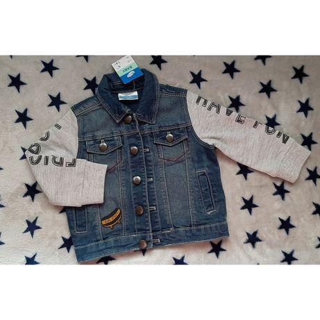 NOWA kurtka jeansowa 74