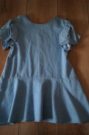 Sukienka jeansowa Zara rozm.116