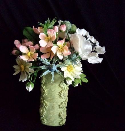 Цветы (декор) - ручная работа