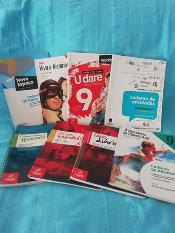 Cadernos atividades 10 ano