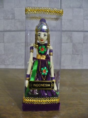 Lalka kolekcjonerska marionetka Indonezja