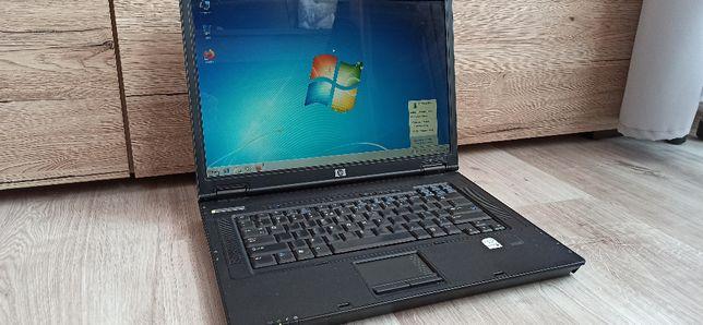 """Laptop HP Compaq nx7300 15,4"""" sprawny, zasilacz, bateria trzyma 40 min"""