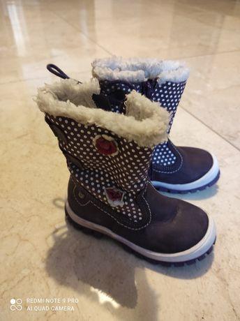 Buty dziewczece 22